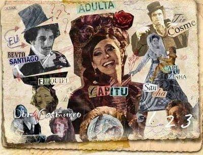 Capitu foi utilizada como personagem em uma minissérie na TV baseada no Livro Dom Casmurro